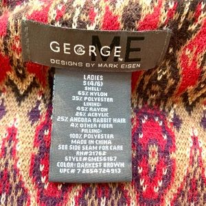 Jackets & Coats - George Me by Mark Eisen brown puffer vest size S